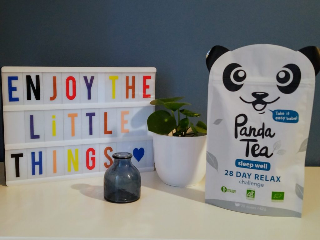 thé cure sleep well panda tea sommeil relax challenge fatigue infusion tisane blog roobios