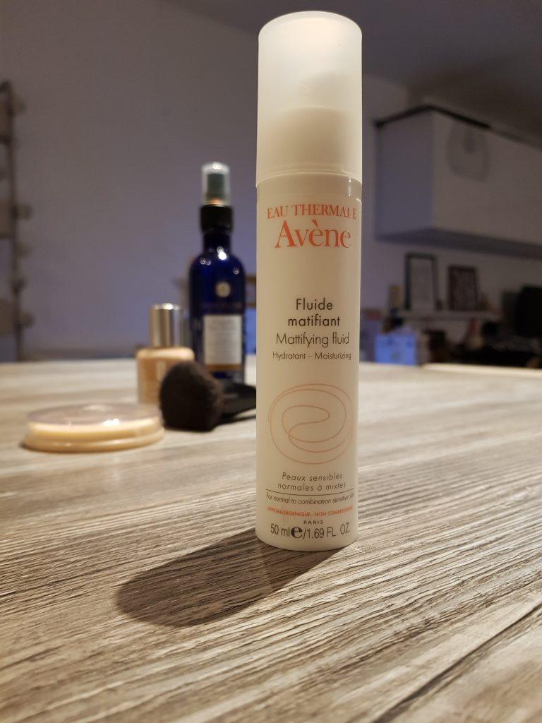 fluide matifiant beauté make up maquillage avène confort routine beauté hydratation